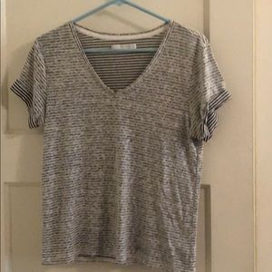 Abercrombie & Fitch striped lightweight tee